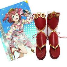 lolita Shoes Lovelive Aqours Cosplay Boots Shoes Anime Party