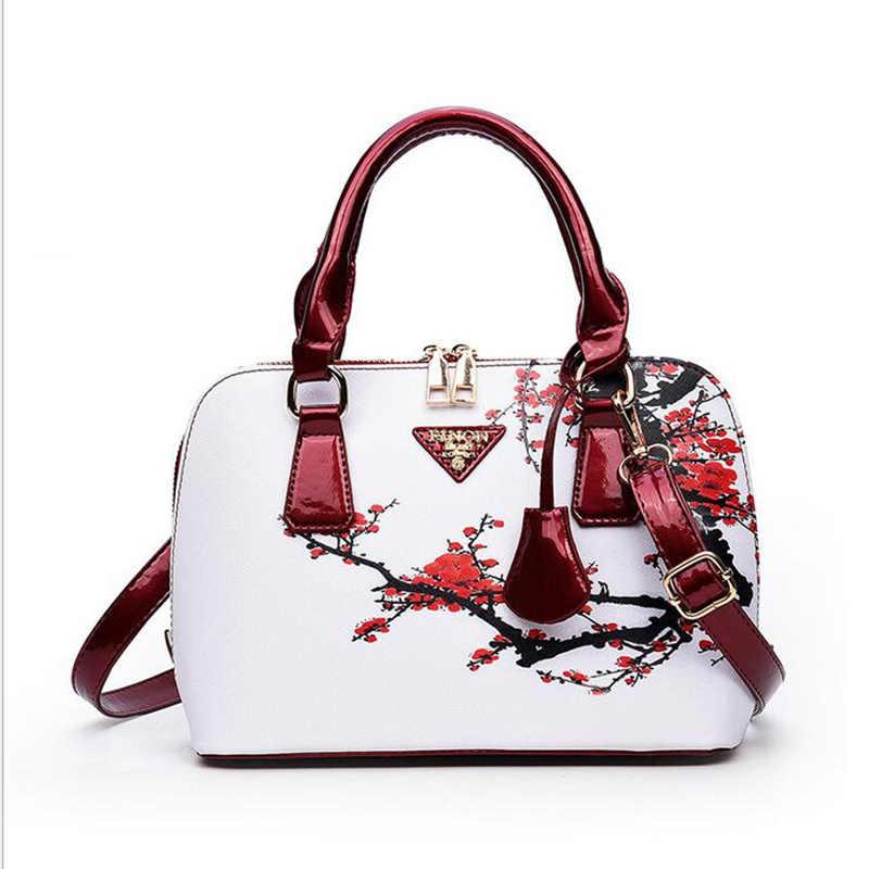 In Luxury da shell vỏ gói 2017 new women túi xách Nổi Tiếng thương hiệu thiết kế vai túi Messenger