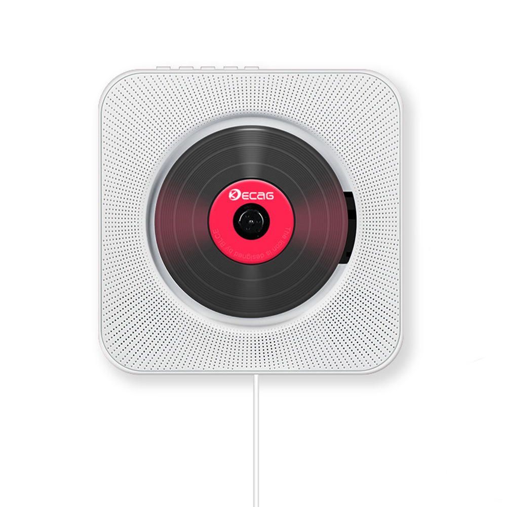 Lecteur CD mural formation prénatale anglais avec télécommande Radio FM haut-parleurs HiFi intégrés USB MP3