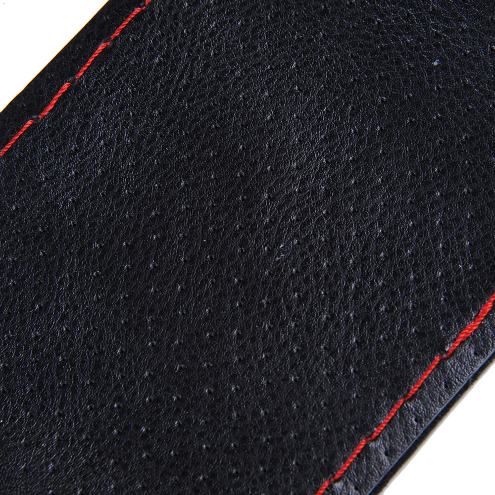 Universal 36-40cm Anti-slip Genuine Leather DIY Car Steering Wheel Cover Case With Needles and Thread Car Cover Car Styling 11