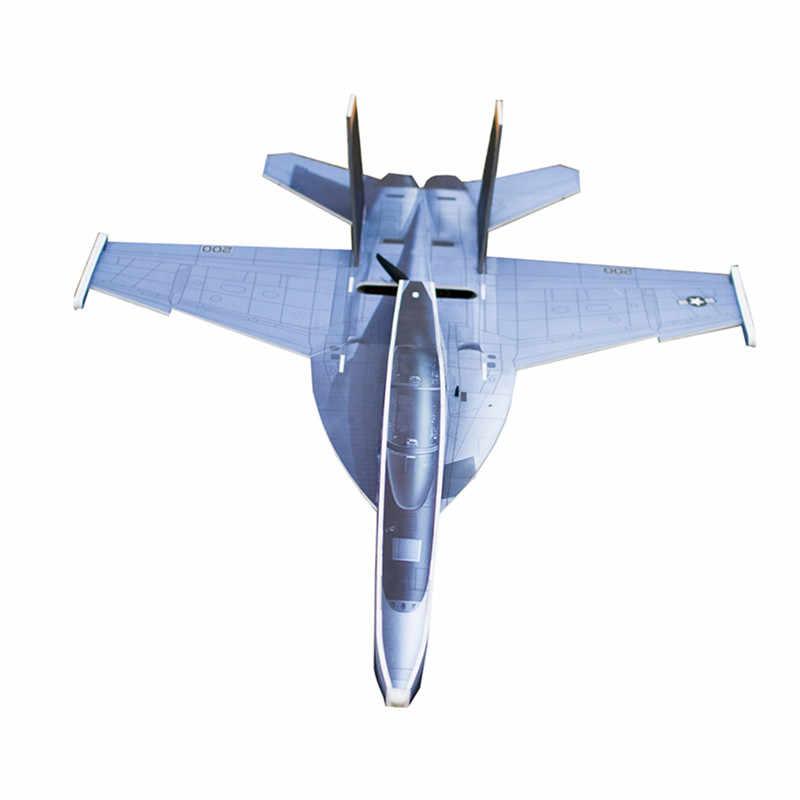 F18 PP 882 ミリメートル翼幅 30/40A 1500 から 2200 mah 3 S RC 飛行機固定翼キット屋外子供のためのおもちゃギフト