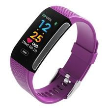 цена на Smart Band Blood Pressure Heart Rate Monitor IP67 Wrist Watch Fitness Bracelet Tracker Pedometer Wristbands