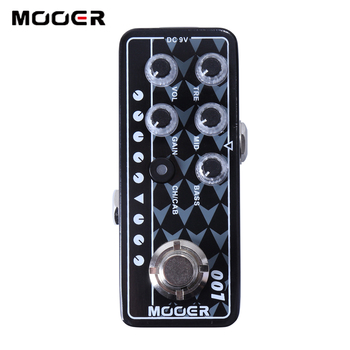 Mooer 001  Gas Station High quality dual channel preamp 2 different modes for footswitch operation guitar effect guitar