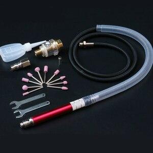 Image 5 - WENXING Kit de Micro troquel de aire de alta velocidad, Mini lápiz de amoladora, herramienta de grabado, molienda, herramientas neumáticas de corte, Mayitr