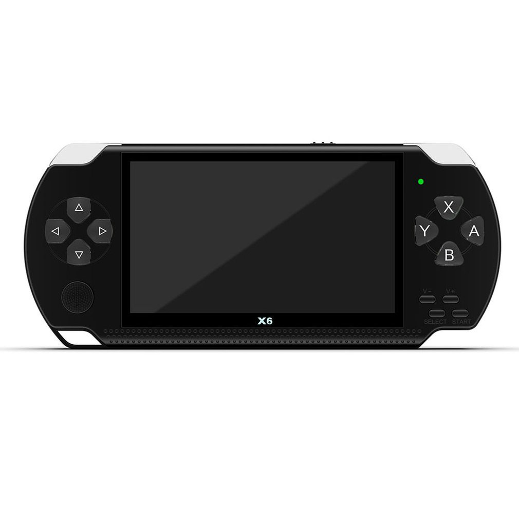 For X6 PSP Handheld Game Console Mp5 Mp4 Player Real 8gb Game Camera Video With Screen For Exquisite Presents image