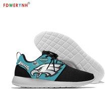 Football Philadelphia PE 3D Print Logo Custom Leisure Lightweight Mesh Mens/womens Shoes