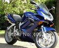Ventas calientes, 02-12 VFR 800 ABS kit del carenado para Honda VFR800 2002-2012 azul carenados de la motocicleta VFR 800 para la venta ( moldeo por inyección )
