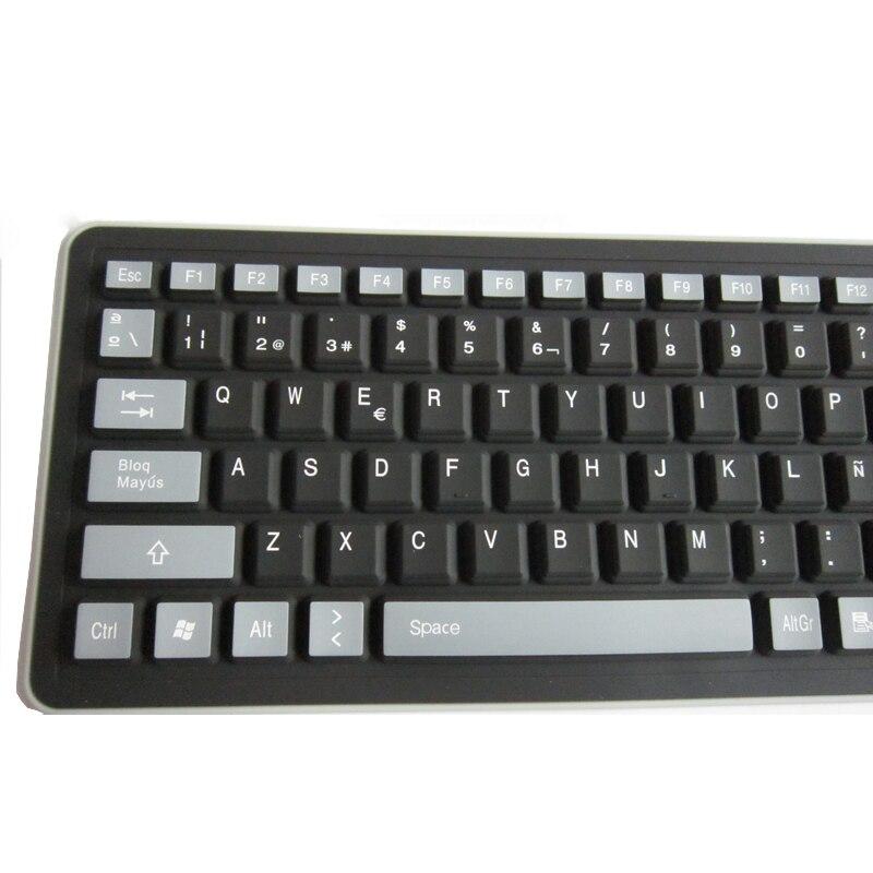 9 Spanish Silicone Spanish Keyboard