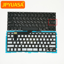 Russian Keyboard Macbook Backlight A1398 Enter Small with for Pro Retina Key-Ru New