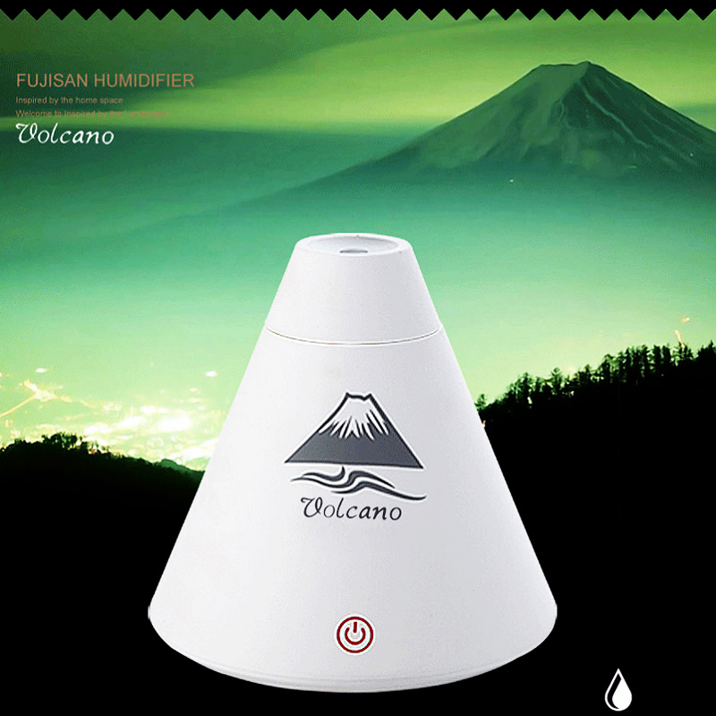 3 Colors Volcano Air Humidifier Aromatherapy Diffusers USB