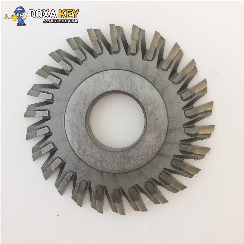 26-tooth Inlaid alloy cutter 70mm inserted carbide angle cutter for WENXING 888A 888C key cutting machines[1pcs] milling cutter 70x7 3x12 7x26t welded carbide cutter for wenxing portable q27 100d 100g 100e horizontal key cutting machines