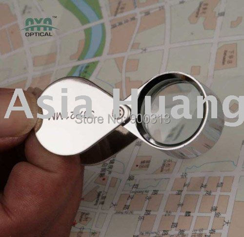 (Min order$10) free shipping Wholesale - 30 x 21mm Jewelry LOUPE MAGNIFIER SCRAP GOLD JEWELRY GIFT IDEA