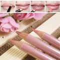 3 Pçs/lote À Prova D' Água de Longa Duração Caneta Delineador de Lábios Rosa Nu Makuep Concurso Lip Liner Pencil Cosméticos Lábio Matiz