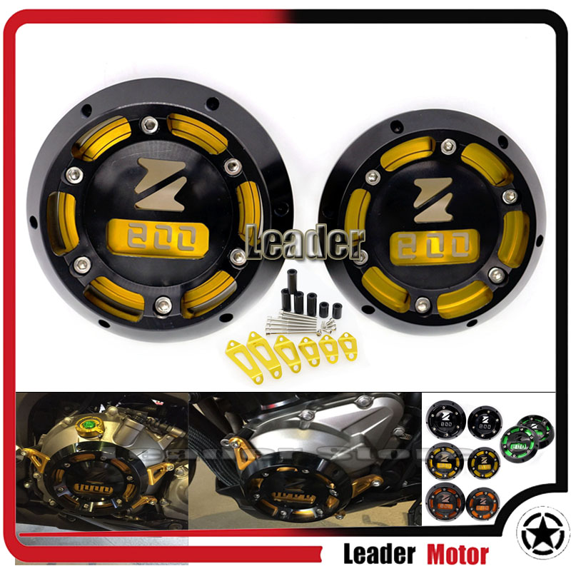 Hot Sale Motorcycle Accessories For KAWASAKI Z800 2013 2014 2015 Z800 CNC Engine Stator Cover Engine Protective Cover Gold hot sale motorcycle accessories rear brake reservoir cover gold for kawasaki z250 z750 z800 z1000 z1000sx
