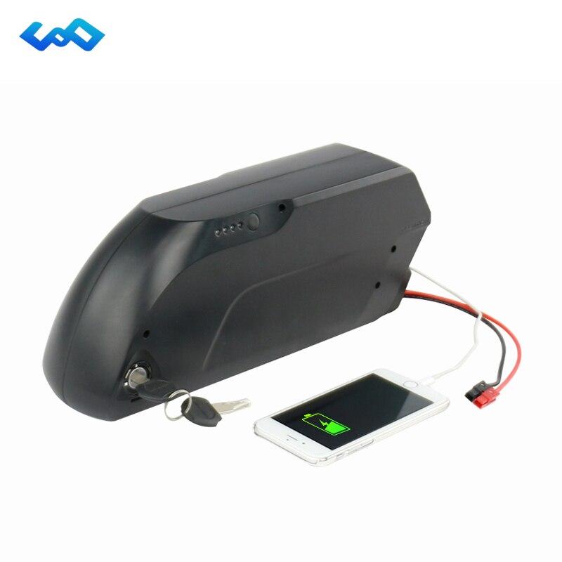 Ad alta Capacità Imbottiture Tubo E-Bici Della Batteria 48 V 17.5Ah Batteria agli ioni di Litio per la Bici Elettrica 48 V 1000 W Motore