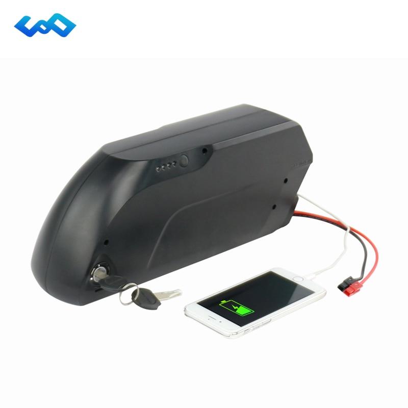 Haute Capacité Vers Le Bas Tube E-Vélo Batterie 48 V 17.5Ah Batterie Au Lithium-ion pour Vélo Électrique 48 V 1000 W Moteur