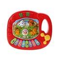 Bebé musical educativo animal granja piano music juguete de los niños de dibujos animados de piano animal de granja de desarrollo toys para niños de regalo