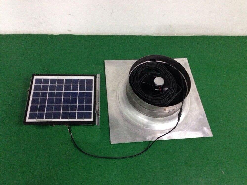 DIY Гейбл вентилятор Солнечный Гейбл поклонников вентиляции Ёмкость солнечный вентилятор чердаке болельщиков 1279cfm 10 Вт низкая Шум 12 В для до