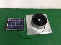 DIY pignon ventilateur solaire pignon fans Ventilation Capacité solaire vent grenier ventilateur ventilateurs 1279cfm 10 W Faible Bruit 12 V pour maison, center commercial, cuisine