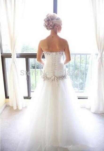 2016 vestidos boda Pnina Tornai Vestido de Novia Bling Bling Tulle ...