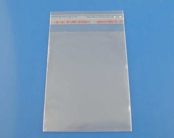 Nachdenklich Doreenbeads 200 Stücke Klar Selbstklebende Dichtungs-plastiktaschen 5x10 Cm nutzfläche 8x5 Cm Preisnachlass