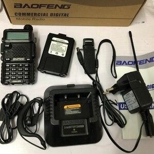 Image 4 - 2019 Baofeng DM 5R walkie talkie Vhf Uhf Dmr Repeater podwójny czas gniazdo Dm 5R cyfrowe analogowe Radio dwuzakresowe Walkie Talkie