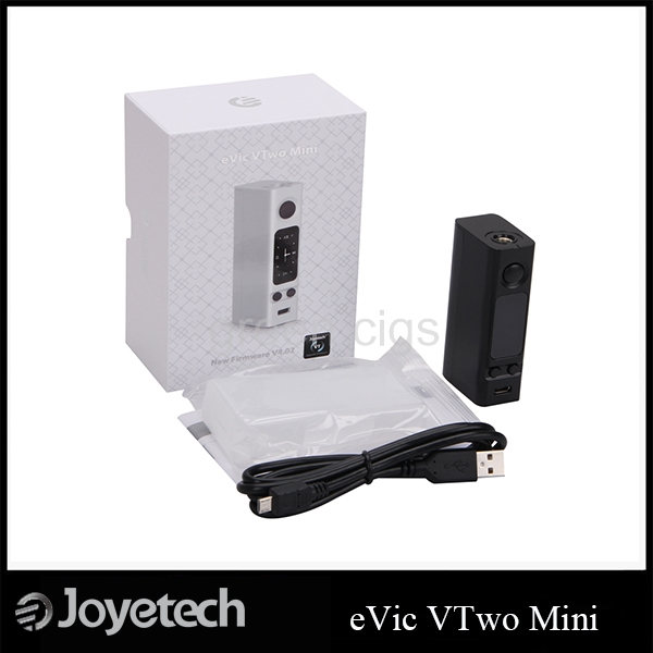 ФОТО Original Joyetech eVic VTwo Mini 75W OLED Screen Box Mod Support RTC/VW/VT/Bypass/TCR modes with Upgradeable Firmware