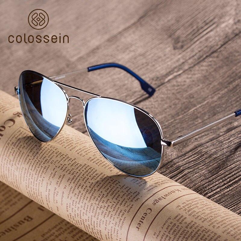 COLOSSEIN Polarisierte Sonnenbrille Frauen Halbrahmen Handgemachten ...