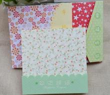 Оригами узором цветочным фон красивая моделей mix скрапбукинг бумаги украшения diy