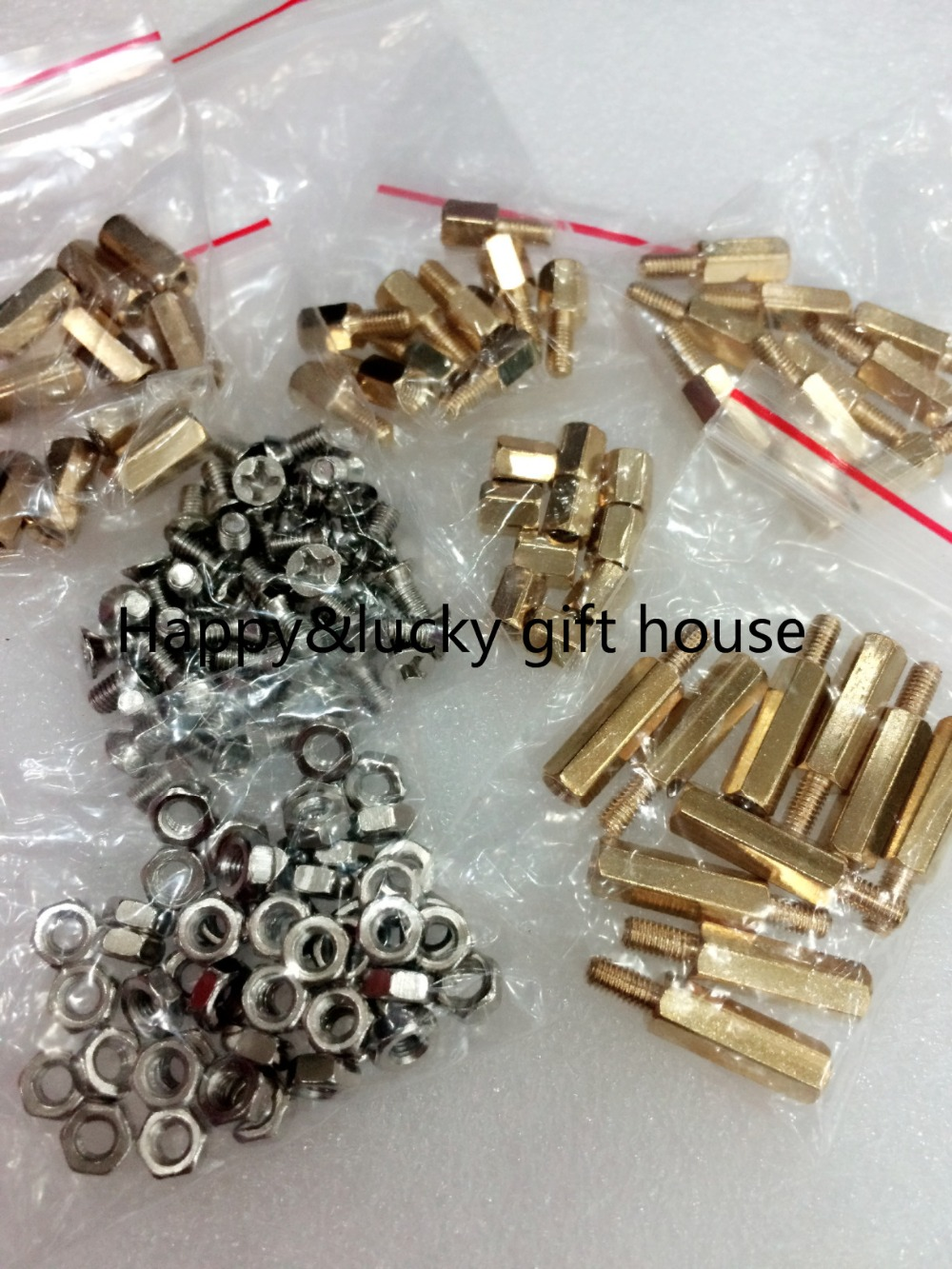 YYT гайки винты медные столбы 6 + 6 10 + 6 15 + 6 M3 гайки 3*6 винты 6 мм полые 10 мм полые 150 шт