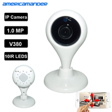 720P HD P2P H.365 Onvif Video IP Camera WiFi Wireless TF Card Storage night vision Network Security CCTV Family Defender