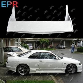 ل نيسان سكايلاين R33 OEM الألياف الزجاجية المفسد الجسم كيت سيارة التصميم السيارات ضبط جزء ل GTR R33 GTR الفيبرجلاس OEM المفسد