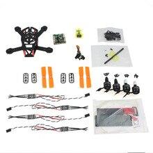 F16895-A JMT DIY FPV Drone CC3D 150mm Mini RC Quadopter H150 Carbon Fiber Frame 3100KV CW / CCW Motor OPTO 16A ESC 3030 Props