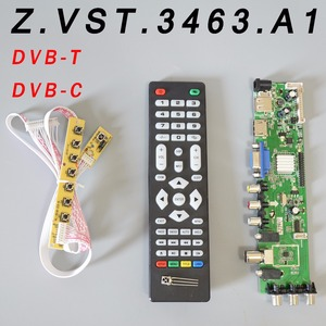 Z.VST.3463.A1 V56 V59 Universal LCD Driver Board Support DVB-T2 TV Board+7 Key Switch+IR(China)