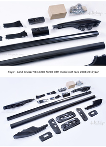 Image 4 - luggage rack roof rail roof bar roof rack for Toyota Land Cruiser 200 V8 LC 200 LC200 FJ 2008 2018,HOLITOP 5years SUV experience