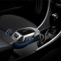 2017 Bluetooth Car Kit Wireless FM Transmitter Radio Adapter FM Modulator Handfree Music Mp3 USB Player