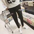 Amazon Качество Груза падения 2016 Новых Людей Тонкий Черный Случайные брюки Мужчины Брюки Хип-Хоп Брюки Шаровары Европа Стиль Sreetwear