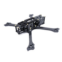 Cockroach V2 225mm Wheelbase 5mm Arm Carbon Fiber 5 Inch Frame Kit for RC Drone FPV Racing