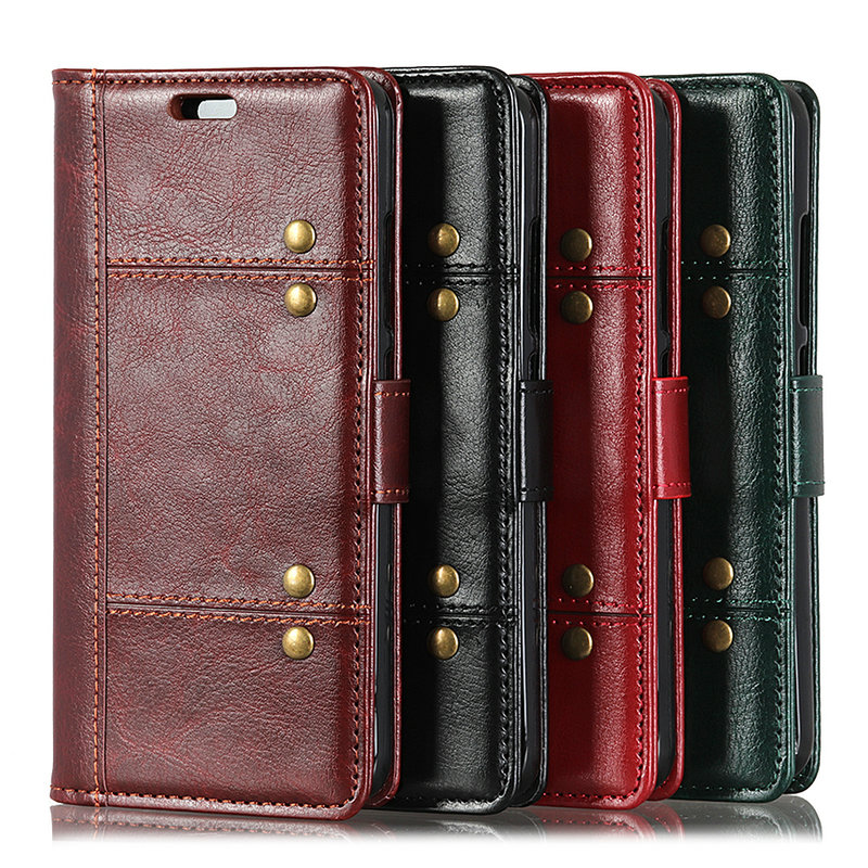 Luxury MOBFONE Leather <font><b>Case</b></font> For <font><b>Sony</b></font> <font><b>Xperia</b></font> 1 5 8 <font><b>10</b></font> PLUS II 2th SO- 41A 51A Flip Stand Wallet book Soft <font><b>Cover</b></font> XA2 PLUS L3 Bag image