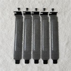 Image 1 - 100 unids/lote CAJA DE ORDENADOR chasis PCI ventilación deflector refrigeración cubierta a prueba de polvo con Scews negro/rojo