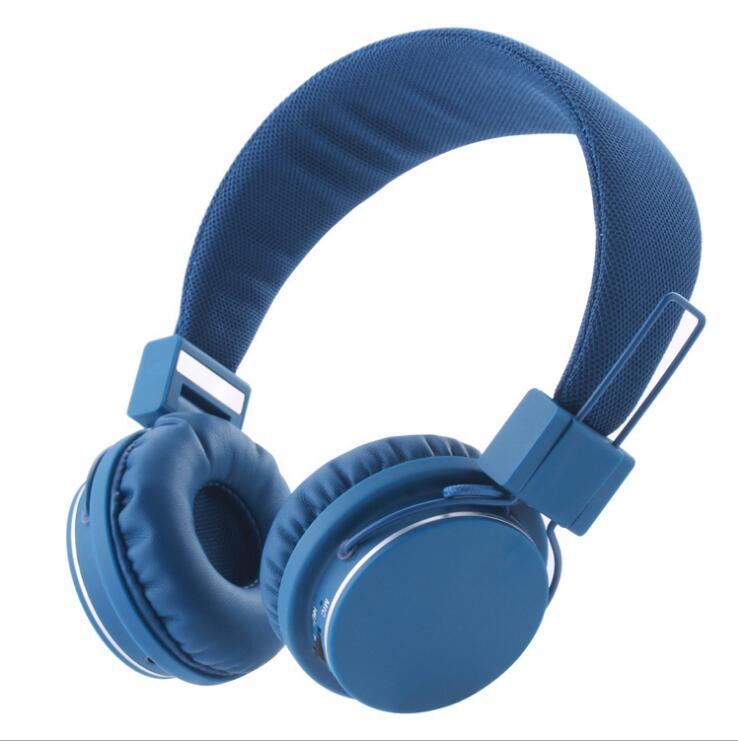 Casque d'écoute Bluetooth sur l'oreille casque Hi-Fi stéréo sans fil mémoire douce-protéines cache-oreilles micro intégré et Mode filaire pour PC