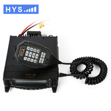 High Quality Car walkie talkie Mobile Radio Transceiver Dual Band VHF/UHF 136-174MHz and 400-480MHz Car radio HYS TC-MAUV11
