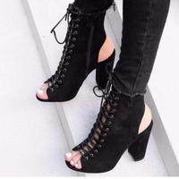 Odinokov Hot Selling 2018 New Summer Fashion High Platform Sandals Women Ladies Shoes China Black Size