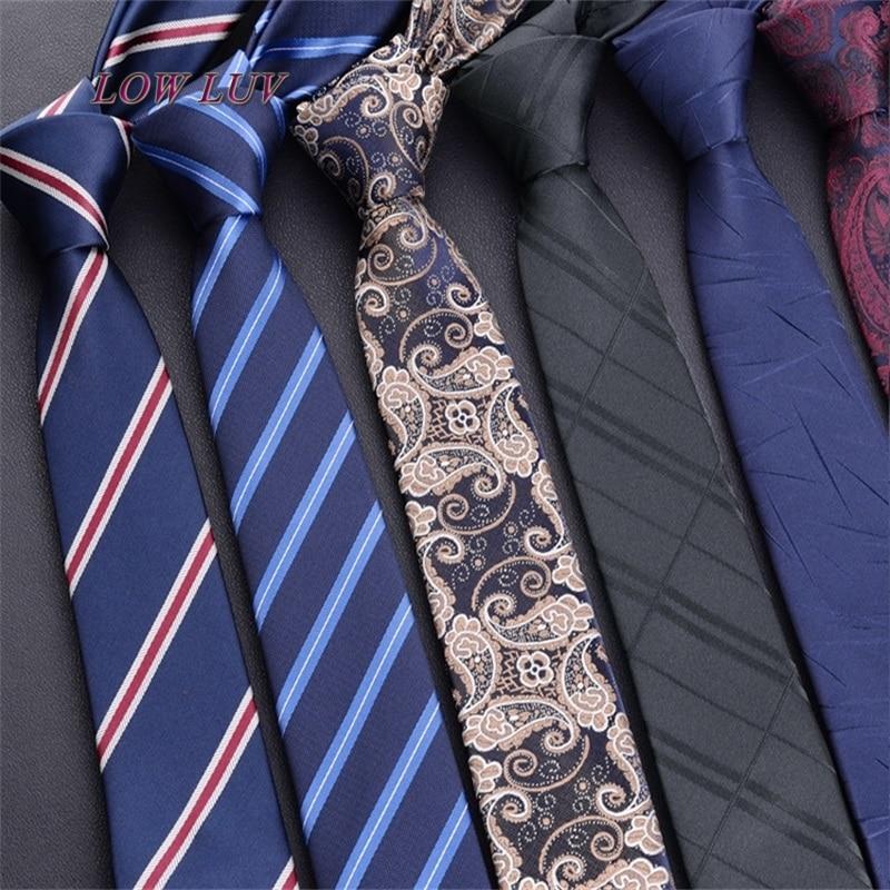 100% Silk Mens Ties New Design Neck Ties 6cm Plaid&Striped Ties For Men Formal Business Wedding Party Gravatas