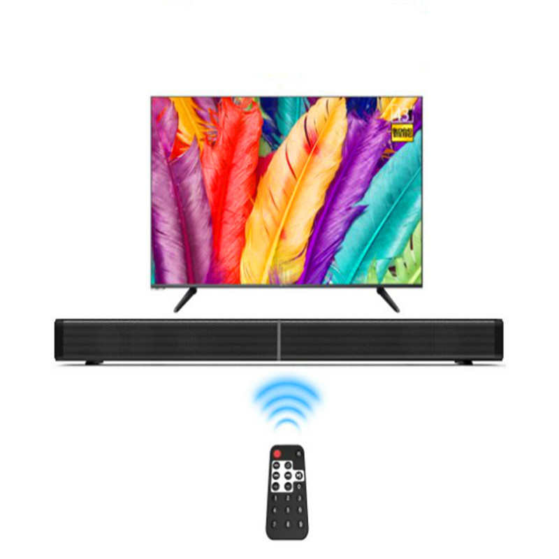 Home Cinema Audio Soundbar TV Speakers Music Center Wireless Column Support USB Micro SD Wall Audio System Active Sound Box