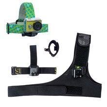 YI D'action Caméra Accessoire Faisceau Tête Poitrine Main Mont Strap Léger et Portable Main-livraison Sports de Plein Air