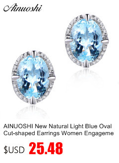 HTB18687k8smBKNjSZFFq6AT9VXat AINUOSHI Brand Sparkling Square Stud Earring Asscher Cut Sona Diamond Pure 925 Sterling Silver Shining Earring Lady Jewelry Gift