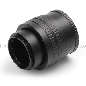 Image 2 - M42 to M42 Mount Lens Adjustable Focusing Helicoid Macro Tube Adapter   35mm to 90mm