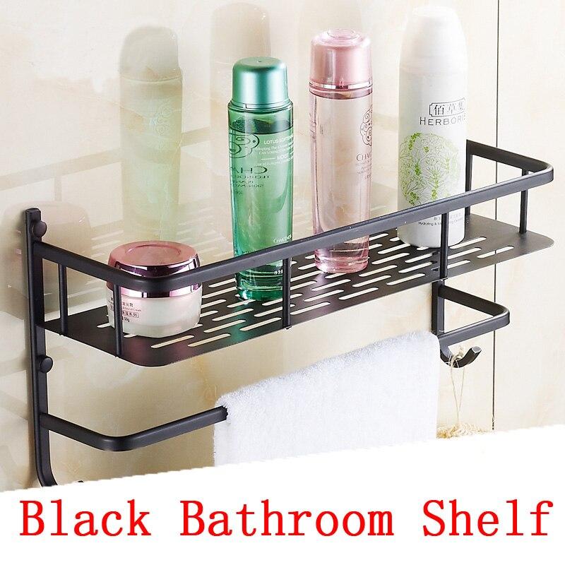 40cm Antique bathroom shelves with hooks towel racks net, ORB Copper ...