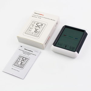 Image 5 - Thermopro TP55 デジタル温度計湿度計屋内屋外の温度計タッチスクリーンとバックライト温度湿度